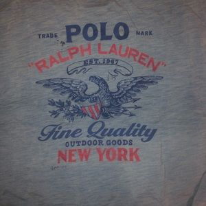 Men's XL POLO RALPH LAUREN cotton long sleeve